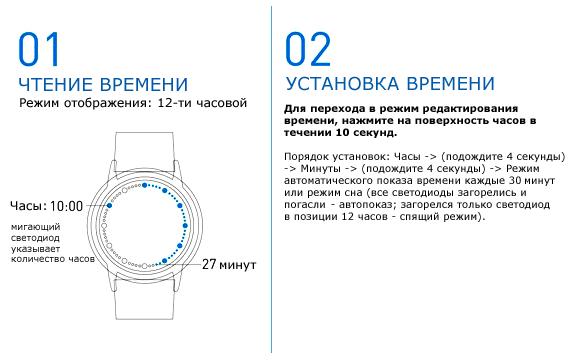 часы сенсорные наручные фото